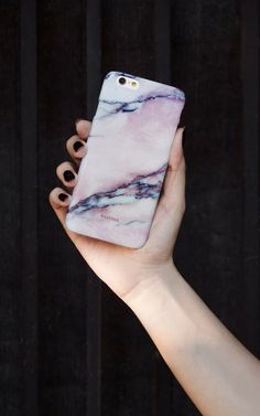Pink Marble iPhone Case - SilkFred