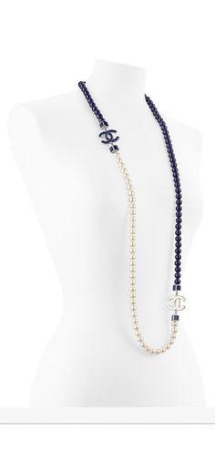 Pulseras, brazaletes, collares, pendientes - Pre Colección Primavera- Verano 2015 - CHANEL