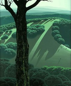 Eyvind Earle | Graphicine