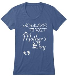 Mother's Day Gifts For Your Mom Tshirt Indigo áo T-Shirt Front
