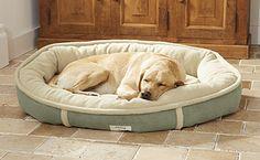 orvis wraparound dog bed