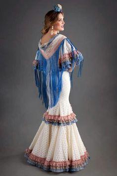 Folk Fashion, High Fashion, Womens Fashion, African Fashion, Indian Fashion, Flamenco Costume, Spanish Dress, Tribal Dress, Festival Wear
