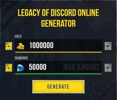 Legacy Of Discord Hack Generator for Android and iOS You Can Generate Unlimited Free Diamondsclick the button below! to Generate Unlimited Free Diamonds Episode Free Gems, Pool Coins, Game Hacker, Free Gift Card Generator, Play Hacks, App Hack, Jamel, Android Hacks, Hack Online