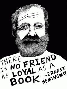 Ernes Hamingway's motto