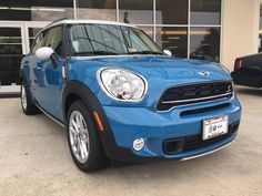 Are you ready? No problem! Check out the Sterling Blue Metallic 2016 MINI Cooper S Countryman - Mini Cooper S, Metallic, Bmw, Vehicles, Winter, Check, Winter Time, Rolling Stock, Vehicle