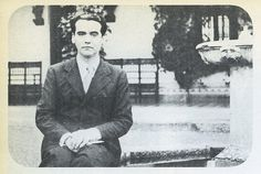 Federico García Lorca en Toledo.