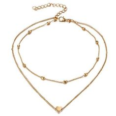 Product Information Product Type: Choker Necklace Size: Adjustable 30 - 37 cm heart choker gold silver tiny chain Heart Choker, Gold Choker Necklace, Pendant Necklace, Small Heart, Necklace Sizes, Casual, Chokers, Jewelry Making, Chain