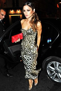 Rachel Bilson and cheetah print... Perfect combo!