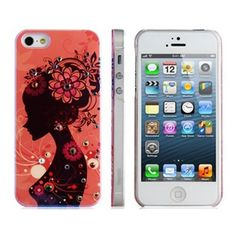 Amazon.com: Joyroom Jeweled Girl Protective Case for iPhone 5: Electronics