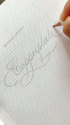 Pencil Calligraphy, Calligraphy Fonts Alphabet, Calligraphy Tutorial, Calligraphy For Beginners, Copperplate Calligraphy, Hand Lettering Tutorial, Learn Calligraphy, Penmanship, Cursive
