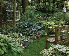 Image result for english gardens in the shade