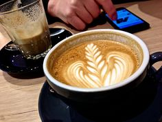 Coffee time at Lucky Penny in South Yarra