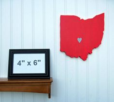 Most popular tags for this image include: red, wall decor and state decor
