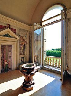 Villa Barbaro, Maser, Treviso www.italianways.com/palladios-last-days-at-villa-barbaro-in-maser/
