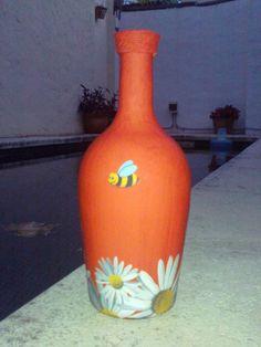 Botella Decorada.