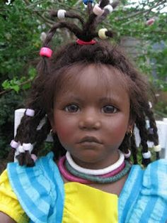Ayoka, by Annette Himstedt, 1989-90