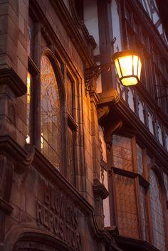 sconce lantern, blower's repository, shrewsbury, england