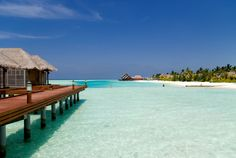 The Maldives is definitely on my bucket list!  So gorgeous.