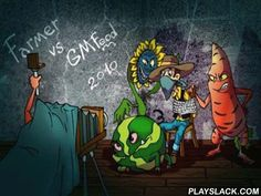 Farmer Vs GMFood  Android Game - playslack.com , Mutant produces have taken  quality in Texas. All creators were taken prisoner, and only one highly accomplished farmer oversaw  to flee from confinement. He's the only one, who can rescue the prisoners, but he can not do it himself, he just needs your aid badly.