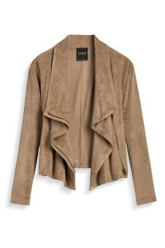 Stitch Fix Fall Style: Suede Jacket by Lysse