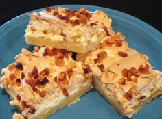 White Chocolate Macadamia Bars Recipe | Just A Pinch Recipes