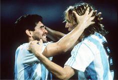 Maradona y Caniggia