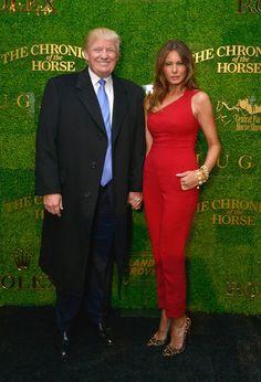 Melania Trump Jumpsuit - Melania Trump Looks - StyleBistro