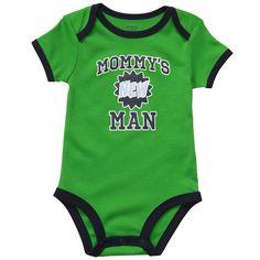 Short Sleeve Slogan Bodysuit | Baby Boy Bodysuits