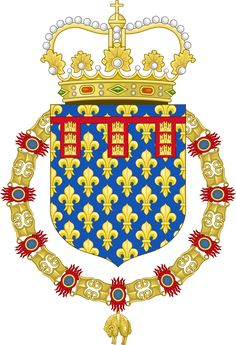 Coat of arms of the King of Spain as the Count of Artois