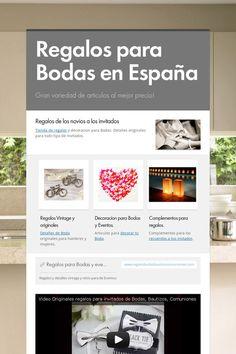Regalos para Bodas en España