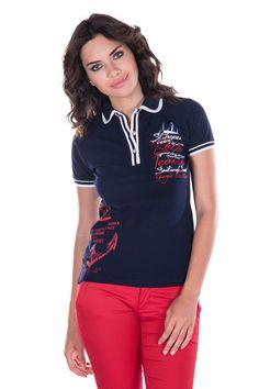 Vendita Giorgio Di Mare / 26272 / Donna / Polo e camicie / Polo Blu Scuro