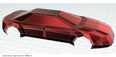 Fusion360でモデリングのテスト Trial modeling of some car bodies by Fusion 360