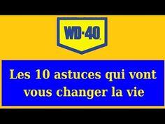 10 astuces maison du WD-40
