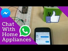 Control Electrical Appliances using Facebook messenger. - YouTube