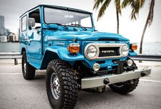 Our friends from FJ Company, specialize in performing full, frame-off restorations of the classic Japanese Toyota FJ series. Their latest masterpiece is this beautiful 1978 Land Cruiser FJ40, a build they consider to be their best work to date. The g