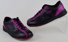 Dexter Monica Women's Size 10 M Black Purple Bowling Shoes  #Dexter #BowlingShoes