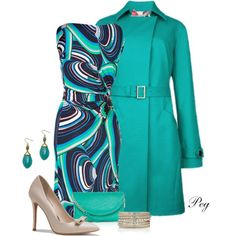 Spring Coat, created by derniers on Polyvore