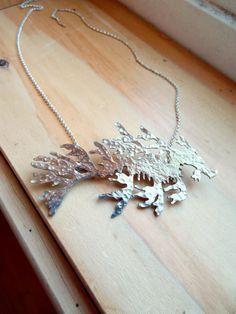 Leafy Sea Dragon Sterling Silver Necklace