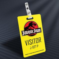 Jurassic Park - Visitor Prop ID Badge