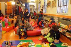 Sala infantil de la Biblioteca de Santiago