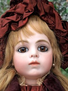 Stunning Antique French doll Bru jeune 1882 Size 9 from chimeradolls on Ruby Lane