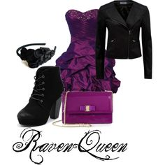 """Ever After High - Raven Queen"" by meredith-tangled on Polyvore"