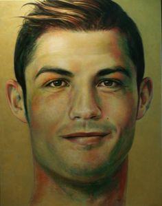 New Art Work by Antonio Capel  #Christiano_Ronaldo