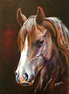 Wildfire the Horse - Acrylic painting tutorial