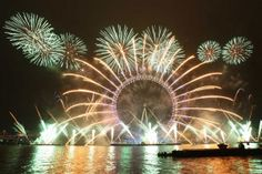 London New Year Fireworks 2014