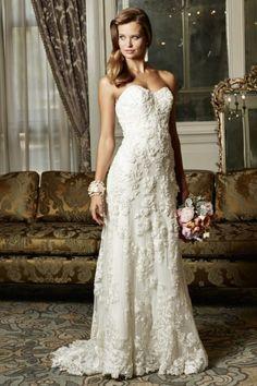 Such gorgeous detailing ...  WTOO Wedding Dresses - Style Helena 13708/13708H #wtoo #weddingdresses #bestbridalprices