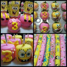 Spongebob Candy apples