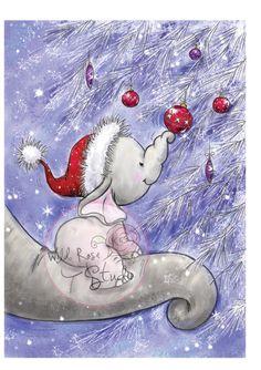 elephant first Christmas
