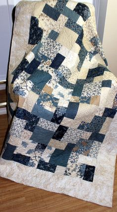 "BLUE BARN Sofa Throw, Bed Coverlet, drop Dead Gorgeous pinky Quilt 56"" x 75"" Ready to Ship"