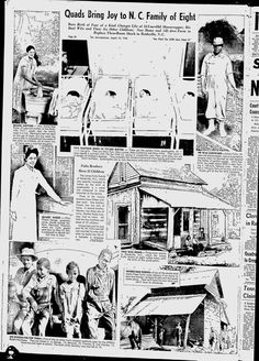 Full page article about the Fultz Quads in the Baltimore Afro-American, August 24, 1946